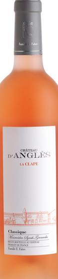 安格雷斯克拉普经典西拉-慕合怀特-歌海娜桃红葡萄酒(Chateau d'Angles La Clape Classique Syrah-Mourvedre-Grenache...)