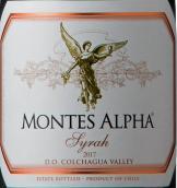 蒙特斯欧法西拉干红葡萄酒(Montes Alpha Syrah, Colchagua Valley, Chile)