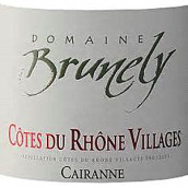 布赫拿利酒庄罗纳河谷丘村庄级凯拉纳红葡萄酒(Domaine Brunely Cotes Du Rhone Villages Cairanne,Rhone ...)
