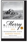 快活酒庄晚收甜白葡萄酒(Merry Cellars HarvestWhite,Washington,USA)