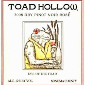 蟾蜍洞蟾蜍之眼黑皮诺桃红葡萄酒(Toad Hollow Eye of the Toad Pinot Noir Rose,Sonoma County,...)