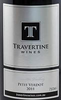 石灰华味而多干红葡萄酒(Travertine Petit Verdot,Pokolbin,Australia)