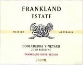 法兰克兰库拉德拉园雷司令干白葡萄酒(Frankland Estate Cooladerra Vineyard Riesling,Frankland ...)