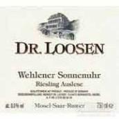 露森温勒内日晷园雷司令精选白葡萄酒(Dr. Loosen Wehlener Sonnenuhr Riesling Auslese, Mosel, Germany)