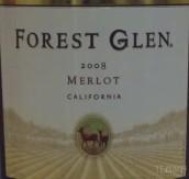 森林幽谷酒庄梅洛干红葡萄酒(Forest Glen Merlot,California,USA)