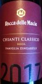 Rocca delle Macie Famiglia Zingarelli Chianti Classico DOCG,...