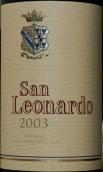 圣李奥纳多酒庄多罗米蒂园干红葡萄酒(Tenuta San Leonardo San Leonardo Vallagarina Vigneti delle ...)