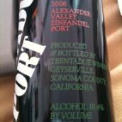 特伦仙粉黛波特酒(Trentadue Zinfandel Port,Alexander Valley,USA)