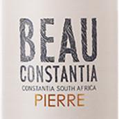博尔·康斯坦提亚酒庄皮埃尔干白葡萄酒(Beau Constantia Pierre,Constantia,South Africa)