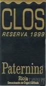 铂特克洛斯珍藏干红葡萄酒(Federico Paternina Clos Reserva,Rioja DOCa,Spain)