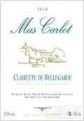 马斯卡罗贝勒加德克莱雷干白葡萄酒(Mas Carlot Clairette de Bellegarde,Rhone,France)
