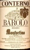 孔特诺梦馥迪诺巴罗洛珍藏干红葡萄酒(Giacomo Conterno Monfortino,Barolo Riserva DOCG,Italy)
