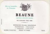 米歇尔·格鲁酒庄(伯恩)干红葡萄酒(Domaine Michel Gaunoux Beaune Rouge, Cote de Beaune, France)