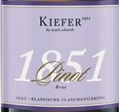 基弗酒庄皮诺天然干型起泡酒(Weingut Kiefer Sekt Pinot Brut,Kaiserstuhl,Baden,Germany)