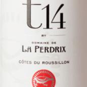 松鸡酒庄T14混酿桃红葡萄酒(Domaine De La Perdrix T14 Rose,Roussillon,France)