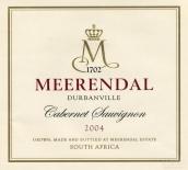 米瑞黛赤霞珠干红葡萄酒(Meerendal Cabernet Sauvignon,Durbanville,South Africa)