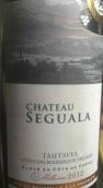 塞古拉酒庄干红葡萄酒(Chateau Seguala, Cotes du Roussillon Villages Tautavel, France)