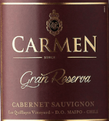 卡门特级珍藏赤霞珠干红葡萄酒(Carmen Gran Reserva Cabernet Sauvignon,Maipo Valley,Chile)