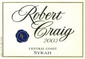 克雷格西拉干红葡萄酒(Robert Craig Syrah,Central Coast,USA)