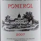 泰勒庄园红葡萄酒(Chateau du Tailhas,Pomerol,France)