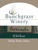 禾草歌海娜桃红葡萄酒(Bunchgrass Winery Grenache Rose, Walla Walla Valley, USA)