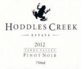 候德乐溪酒庄黑皮诺红葡萄酒(Hoddles Creek Estate Pinot Noir, Yarra Valley, Australia)