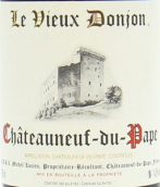 老教堂酒庄教皇新堡干红葡萄酒(Le Vieux Donjon, Chateauneuf-du-Pape, France)