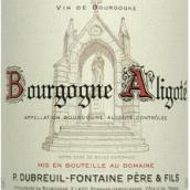迪布勒伊-方丹酒庄勃艮第阿里高特干白葡萄酒(Domaine Dubreuil-Fontaine Bourgogne Aligote,Burgundy,France)