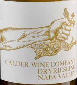 考尔德酒庄雷司令干白葡萄酒(Calder Wine Company Riesling,Napa Valley,USA)