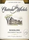 圣密夕雷司令半干型白葡萄酒(Chateau Ste. Michelle Riesling, Columbia Valley, USA)