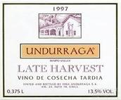 安杜拉加特藏迟摘甜白葡萄酒(Undurraga Reserva Especial Late Harvest, Maipo Valley, Chile)
