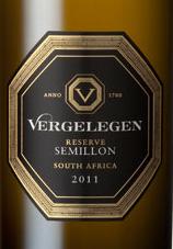 伐黑列亘珍藏赛美蓉干白葡萄酒(Vergelegen Reserve Semillon,Stellenbosch,South Africa)