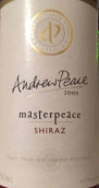 安德鲁皮斯大师系列西拉干红葡萄酒(Andrew Peace Masterpeace Shiraz,South Eastern Australia)