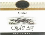 蚝湾梅洛干红葡萄酒(Oyster Bay Merlot,Hawke's Bay,New Zealand)