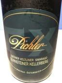 皮希勒杜斯特克莱堡绿维特利纳干白葡萄酒(F.X. Pichler Durnsteiner Kellerberg Gruner Veltliner Smaragd, Wachau, Austria)