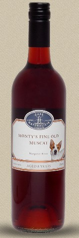 自然之角蒙提陈酿麝香桃红葡萄酒(Cape Naturaliste Monty's Fine Old Muscat,Margaret River,...)
