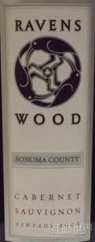 雷文斯伍德赤霞珠干红葡萄酒(Ravenswood Cabernet Sauvignon,Sonoma County,USA)