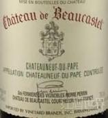 博卡斯特尔酒庄教皇新堡白葡萄酒(Chateau de Beaucastel Blanc,Chateauneuf du Pape,France)