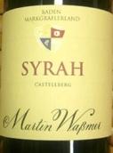 马丁沃斯曼酒庄城堡山西拉橡木桶干红葡萄酒(Weingut Martin Wassmer Syrah Castellberg Barrique Qba ...)