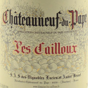 凯优酒庄教皇新堡红葡萄酒(Les Cailloux,Chateauneuf-Du-Pape,France)