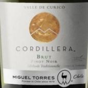 智利桃乐丝科迪勒拉山黑皮诺天然起泡酒(Miguel Torres Cordillera Brut Pinot Noir,Curico Valley,Chile)