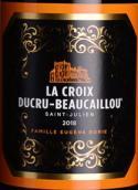 宝嘉龙十字红葡萄酒(La Croix Ducru-Beaucaillou, Saint-Julien, France)