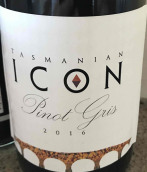 塔斯马尼亚偶像灰皮诺干白葡萄酒(Tasmanian Icon Pinot Gris,Tasmania,Australia)