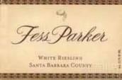 帕克雷司令干白葡萄酒(Fess Parker Riesling, Santa Barbara County, USA)