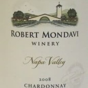 蒙大维霞多丽干白葡萄酒(Robert Mondavi Winery Chardonnay,Napa Valley,USA)