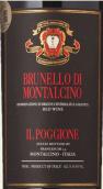 波吉欧酒庄布鲁奈罗红葡萄酒(Tenuta Il Poggione Brunello di Montalcino DOCG, Tuscany, Italy)
