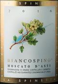 斯缤尼塔酒庄小花莫斯卡托阿斯蒂起泡酒(La Spinetta Biancospino, Moscato d'Asti DOCG, Italy)