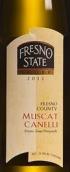 弗雷斯诺卡内利莫斯卡托干白葡萄酒(Fresno State Winery Canelli Muscat,Fresno County,USA)