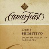 佳娜盛宴普里米蒂沃干红葡萄酒(Cana's Feast Winery Primitivo,Columbia Valley,USA)