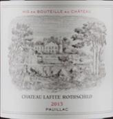 拉菲古堡红葡萄酒(Chateau Lafite Rothschild, Pauillac, France)